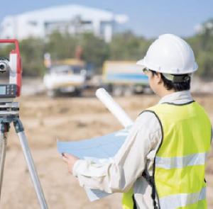 Surveying work service